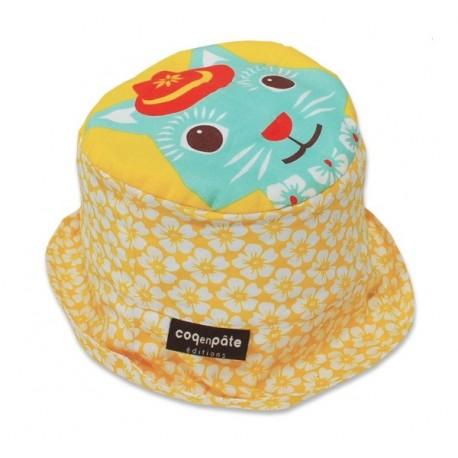 93a2c4e83e6 Bob MIBO chat - coton biologique - Le petit Napo