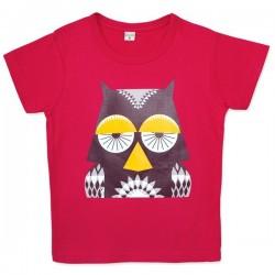 T-shirt MIBO chouette - coton biologique
