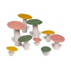Vilten paddenstoel M
