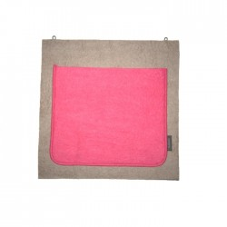 "Wandopberger 1 zak ""Cumulus - ultra roze"""