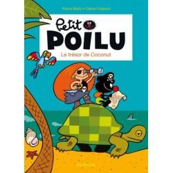 """Boek Petit Poilu """"Le trésor de Coconut"""" - nummer 9"""