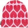 """Bonnet bébé """"Hearts"""" - coton bio"""