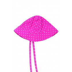 "Chapeau / bob réversible ""Ditsy Hat"" Natural Summer Mushrooms - coton bio"
