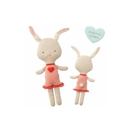 "Doudou crocheté ""Cuddly Friends"" Rita Rabbit - coton bio"