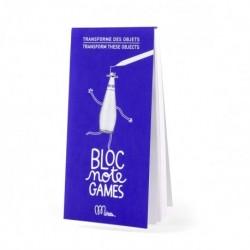 "Notitieblokje Games ""Transforme des objets"""