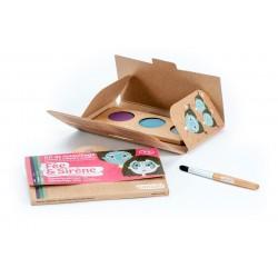"""Kit de maquillage 3 couleurs """"Fée & Sirène"""""""