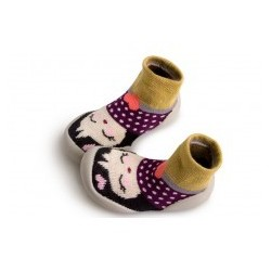 "Chaussons Poppi ""Ningyou"" - Made in France"