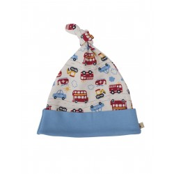"Bonnet bébé ""Lovely Knotted Hat On The Road"" - coton bio"