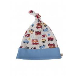 """Bonnet bébé """"Lovely Knotted Hat On The Road"""" - coton bio"""
