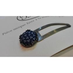 """Pince à cheveux """"Bleu petites fleurs"""""""