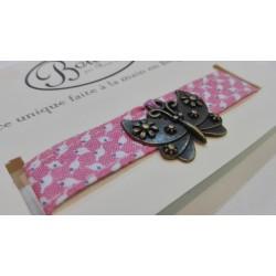 Bracelets en tissu pour fillettes