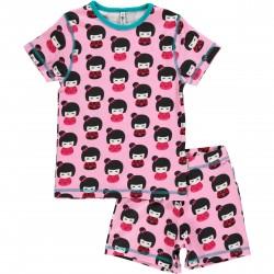 """Pyjama deux pièces """"Doll"""" - coton bio"""