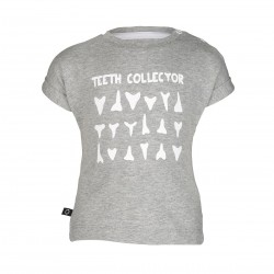 "T-shirt ""Tom Hipster Teeth"" - coton bio"
