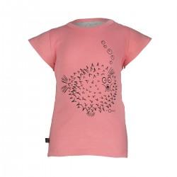 """T-shirt """"Ted Tee Frill Blowfish"""" - coton bio"""