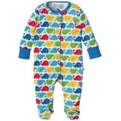 """Pyjama bébé """"Rainbow Whales"""" - coton bio"""