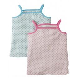 """Assortiment de 2 chemisettes """"Clouds/Daisies"""" - coton bio"""