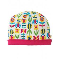 """Bonnet """"Soft bumble bloom"""" - coton bio"""