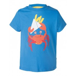 "T-shirt ""Atlantic Sail Blue Crab"" - coton bio"
