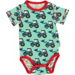 """Body bébé """"Tractor"""" - coton bio"""