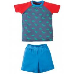 """Pyjama court """"Dino"""" - coton bio"""