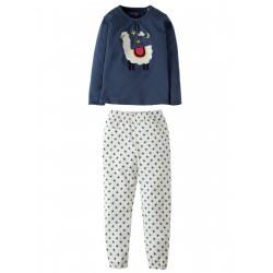 "Pyjama long ""Llama"" - coton bio"