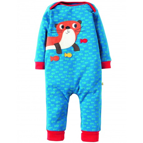 "Pyjama bébé ""Atlantic Ocean/Otter"" - coton bio"