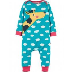 """Pyjama bébé """"Summer Skies/Giraffe"""" - coton bio"""