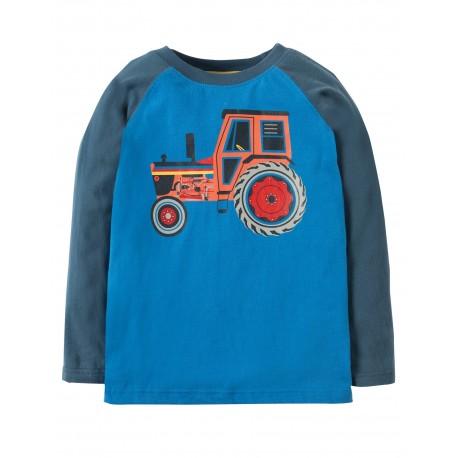 "T-shirt ""Navy/Tractor"" - coton bio"