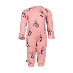"Pyjama / combinaison bébé ""Mermaid"" - coton bio"