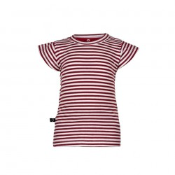 "T-shirt ""Stripe Red"" - coton bio"