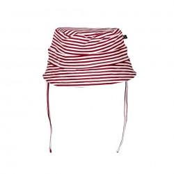 """Chapeau bob """"Stripe Red"""" - coton bio"""