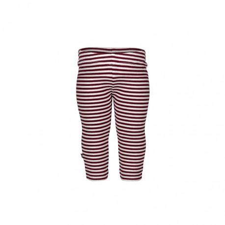 """Legging """"Stripe Red"""" - coton bio"""