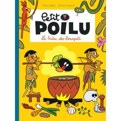 "Livre Petit Poilu ""La Tribu des Bonapéti"" version poche - tome 5"