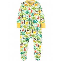 "Pyjama bébé ""Safari Jungle"" - coton bio"