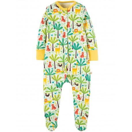 "Pyjama bébé ""Safari Jungle"" - coton bio"