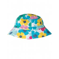 "Chapeau réversible ""Spotty Poppy"" - coton bio"