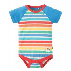 "Body ""Rainbow Candy Stripe"" - coton bio"
