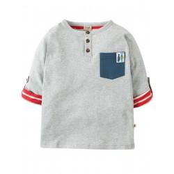 "T-shirt ""Grey Marl"" -coton bio"