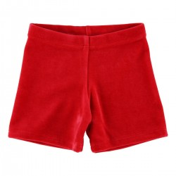 """Short """"Velvet red"""""""