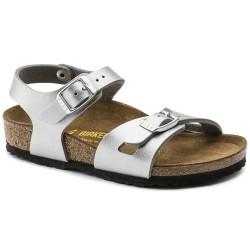 "Chaussures Birkenstock enfant RIO ""Silver"""