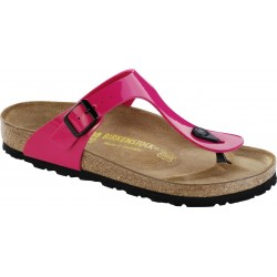 "Chaussures Birkenstock Gizeh ""Pink Lack"""