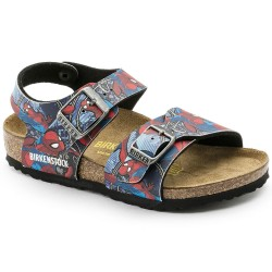 "Chaussures Birkenstock enfant NEW YORK ""Spiderman Action Blue"""