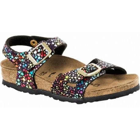 """Chaussures Birkenstock enfant RIO """"Oriental Mosaic Black"""""""