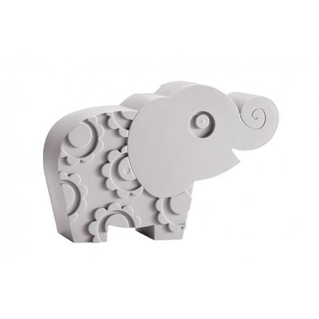 "Boîte à tartines ""Éléphant"" - gris"