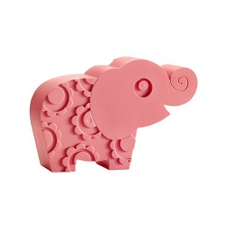 """Boîte à tartines """"Éléphant"""" - rose"""