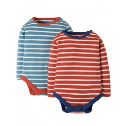 "Assortiment de 2 body's ""Billy"" - coton bio"