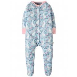 """Pyjama bébé """"Sky Blue Artic Hares"""" - coton bio"""