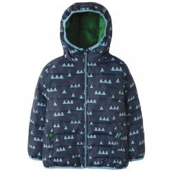 "Veste de pluie ""Toasty Trail Jacket, Mountain Range"" - polyester recyclé"