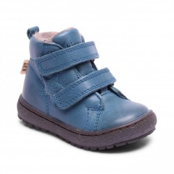 "Chaussures Bisgaard ""Tex boot velcro"" Petrolio"