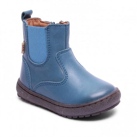 "Chaussures Bisgaard ""Tex boot"" Petrolio"